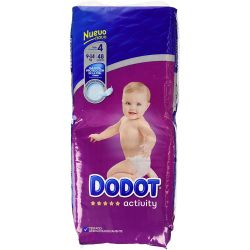DODOT PAÑAL INFANTIL TALLA 4 DE 9 A 14 KG FARMACIADELMERCAT