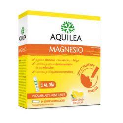 MAGNESIO AQUILEA 14 SOBRES BUCODISPERSABLES FARMACIADELMERCAT